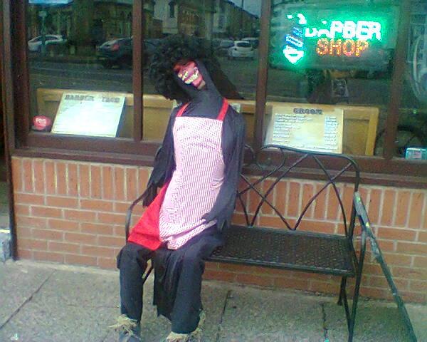 scarecrow barbershop